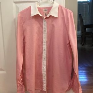 J Crew Womens Cut Button Up Shirt